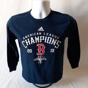 AdidasBoston Red Sox boys long sleeve top